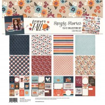 "Simple Stories Forever Fall 12""x12"" Collection Kit 10267"