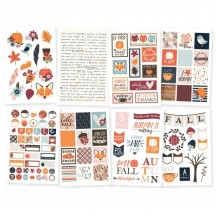 Simple Stories Forever Fall Stickers 10283