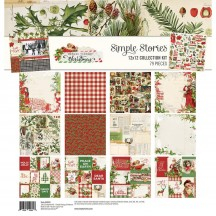 "Simple Stories Simple Vintage Christmas 12""x12"" Collection Kit 10331"