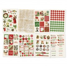 Simple Stories Simple Vintage Christmas Stickers 10352