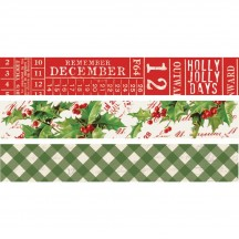 Simple Stories Simple Vintage Christmas Washi Tape Pack 10355