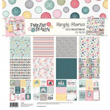 "Simple Stories Freezin' Season 12""x12"" Collection Kit 10358"