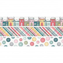 Simple Stories Freezin' Season Washi Tape Pack 10375