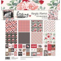 "Simple Stories Kissing Booth 12""x12"" Collection Kit 10377"
