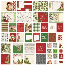 Simple Stories Simple Vintage Christmas Sn@p! Pocket Card Pack 10417