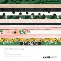 "Kaisercraft Fleur 6.5""x6.5"" Specialty Paper Pad PP1042 40 Sheets"