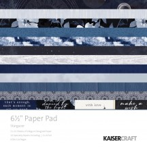 "Kaisercraft Stargazer 6.5""x6.5"" Specialty Paper Pad PP1044 40 Sheets"