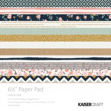 "Kaisercraft Hide & Seek 6.5""x6.5"" Specialty Paper Pad PP1047 40 Sheets"