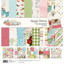 "Simple Stories Simple Vintage Botanicals 12""x12"" Collection Kit 10472"