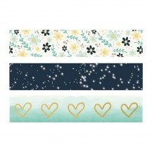 Simple Stories Heart Washi Tape 3 Roll Pack 10515
