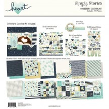 Simple Stories Heart Collector's Essential Kit 10516