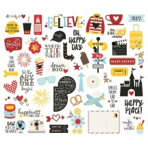 Simple Stories Say Cheese 4 Bits & Pieces Die-Cut Cardstock Embellishments 10538