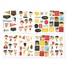 Simple Stories Say Cheese 4 Happy Kids Stickers 10541