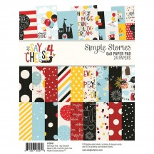 "Simple Stories Say Cheese 4 6""x8"" Double-Sided Paper Pad 10546"