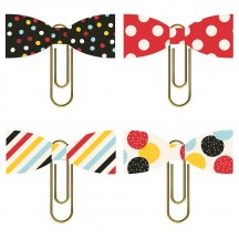Simple Stories Say Cheese 4 Decorative Paper Clip Bows 10549