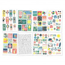 Simple Stories Sunshine and Blue Skies Stickers 10624