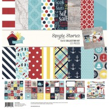 "Simple Stories Cruisin' 12""x12"" Collection Kit 10636"