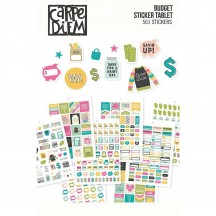 Simple Stories Budget A5 Planner Sticker Tablet 10769