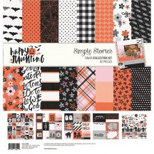 "Simple Stories Happy Haunting Halloween 12""x12"" Collection Kit 10900"
