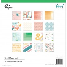 "Pinkfresh Studio Let Your Heart Decide 12""x12"" Collection Kit PFHD100118"