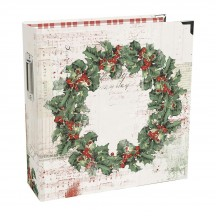 "Simple Stories Simple Vintage Country Christmas Sn@p! Binder 6""x8"" Album 11328"