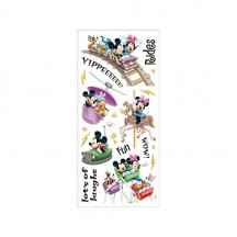 "Sandylion Disney Amusement Park Rides 6""x12"" Accent Stickers PDSCB113"