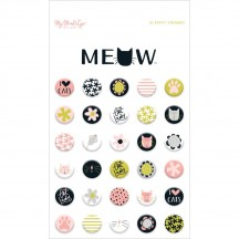 My Minds's Eye Meow Puffy Stickers MEW115