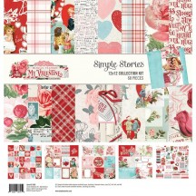 "Simple Stories Simple Vintage My Valentine 12""x12"" Collection Kit 11800"