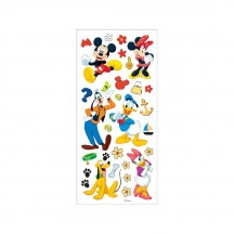 "Sandylion Disney Mickey & Friends 6""x12"" Accent Stickers PDSCB118"