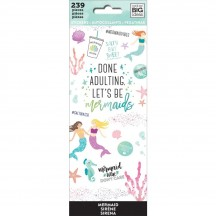 Me & My Big Ideas The Happy Planner Mermaids Value Pack Stickers PPSM-12