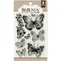 Bo Bunny Butterfly Kisses Clear Stamp Set 12105027