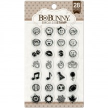 Bo Bunny Emoji 2.0 Clear Stamp Set 12105029