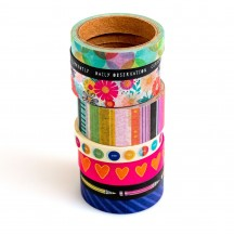 American Crafts Vicki Boutin Color Study Washi Tape Rolls 34005688