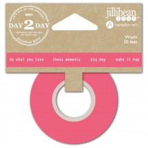 Jullibean Soup Day 2 Day Planner Washi Tape - These Moments 1222