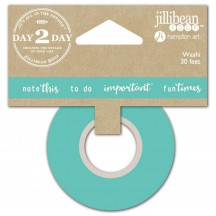 Jullibean Soup Day 2 Day Planner Washi Tape - Note This 1223