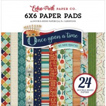 "Echo Park Once Upon a Time Prince 6""x6"" Double-Sided Paper Pad 24 Sheets OUB123023"