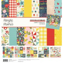 "Simple Stories Summer Farmhouse 12""x12"" Collection Kit 12600"