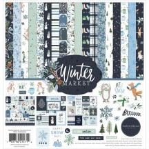 "Carta Bella Winter Market 12""x12"" Collection Kit WM126016"