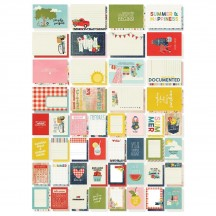 Simple Stories Summer Farmhouse Sn@p! Pocket Card Pack 12619
