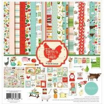 "Carta Bella Farm to Table 12""x12"" Collection Kit FT127016"