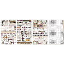 Bo Bunny Beautiful Dreamer Clear Stickers 12802463
