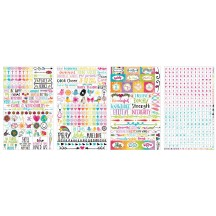 Bo Bunny Believe Clear Stickers 12802464