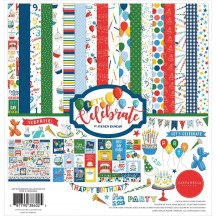 "Carta Bella Let's Celebrate 12""x12"" Collection Kit CB129016"