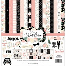 """Echo Park Wedding 12""""x12"""" Collection Kit WED258016"""