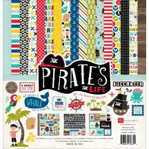 "Echo Park Pirate's Life 12""x12"" Collection Kit PL89016"