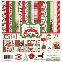 "Carta Bella Have a Merry Christmas 12""x12"" Collection Kit HMC45016"