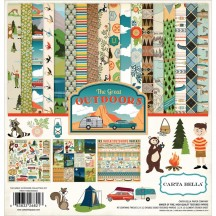"Carta Bella The Great Outdoors 12""x12"" Collection Kit CBGO55016"
