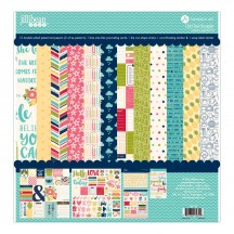 """Jillibean Soup Chit Chat Chowder 12""""x12"""" Collection Pack JB1110"""