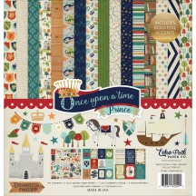 """Echo Park Once Upon a Time Prince 12""""x12"""" Collection Kit OUB23016"""