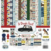 "Echo Park A Dog's Tail 12""x12"" Collection Kit ADT155016"